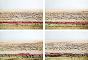 Untitled #7123 #7112 #7117 #7119, Chott el Jerid, 2004