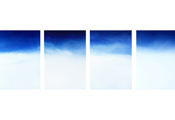 On the Clouds #328 #338 #331 #325, 2006, C-Print, 100x70cm each