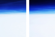 On the Clouds #692 #698, 2006, C-Print, 167x117cm each