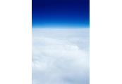 On the Clouds  #3, 1997, C-Print, 87.5x57.5cm/ 171.5x115cm