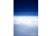 On the Clouds  #4, 1997, C-Print, 87.5x57.5cm/ 171.5x115cm