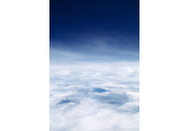 On the Clouds  #5, 1997, C-Print, 87.5x57.5cm/ 171.5x115cm