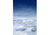 On the Clouds  #6, 1997, C-Print, 87.5x57.5cm/ 171.5x115cm