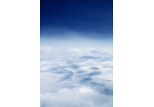 On the Clouds  #7, 1997, C-Print, 87.5x57.5cm/ 171.5x115cm