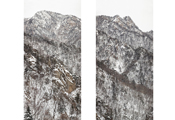 Untitled #1742, #1733, Seorak, 2010, C-Print, 305.6x158.6cm each